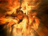"""""""Lament for Icarus"""" by Herbert James Draper"""